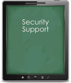 Security Support Tablet