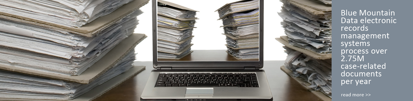 We process over 2.75 case-related documents per year