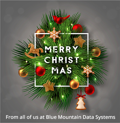 Merry Christmas from Blue Mountain Data Systems