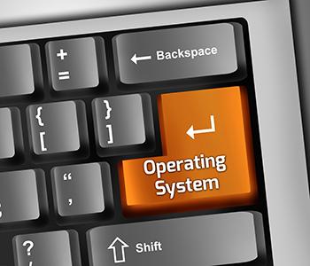 Keyboard Illustration Operating System
