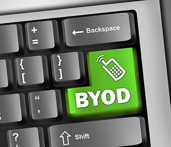 Keyboard Illustration with BYOD wording