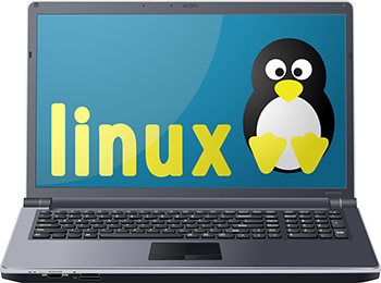 computer with operating system linux